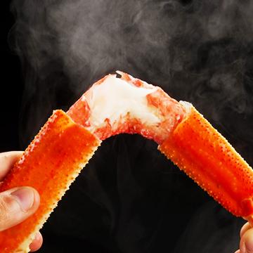 【送料無料】北海道二大蟹セット蟹3点盛り