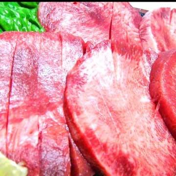 写真:【肉厚】切れ目入り!やわらか厚切り牛たんステーキ