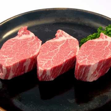 写真:ギフト 米沢牛ステーキ(ヒレ) 180g×3枚