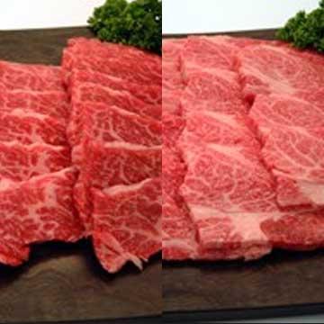 写真:ギフト 米沢牛焼肉(上カルビ250g・ロース250g・たれ)