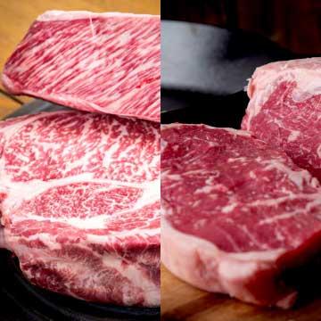 写真:阿蘇牧草和牛あか牛&グラスフェッドビーフ焼肉セット